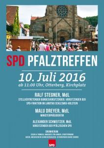 Das SPD-Pfalztreffen 2016 in Otterberg: traditionsreiche Veranstaltung vor historischer Kulisse